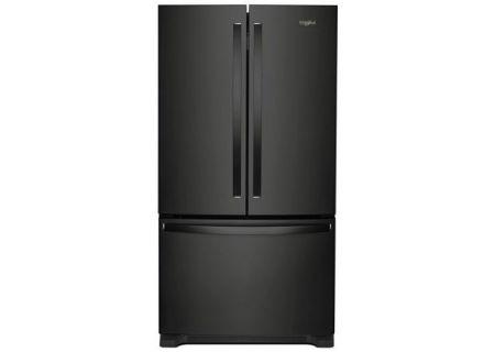 Whirlpool Black 22 Cu. Ft. French Door Refrigerator - WRF532SMHB