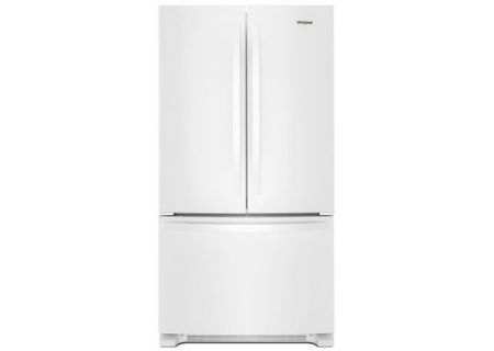 Whirlpool White 22 Cu. Ft. French Door Refrigerator - WRF532SMHW