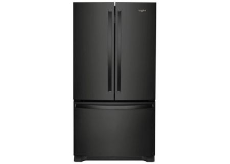Whirlpool Black 25 Cu. Ft. French Door Refrigerator - WRF535SWHB