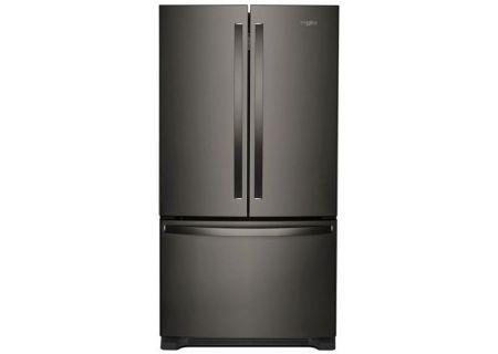 Whirlpool Black Stainless Steel 25 Cu. Ft. French Door Refrigerator - WRF535SWHV