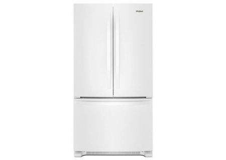 Whirlpool White 25 Cu. Ft. French Door Refrigerator - WRF535SWHW