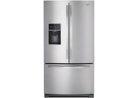 Whirlpool Stainless Steel French Door Refrigerator - WRF767SDEM