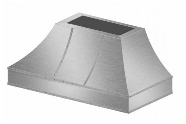 """Large image of BlueStar 48"""" Stainless Steel Wrangler Hood - WRO48MLPLT"""