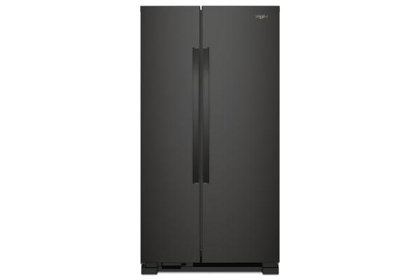 Whirlpool Black Side-By-Side Refrigerator - WRS312SNHB