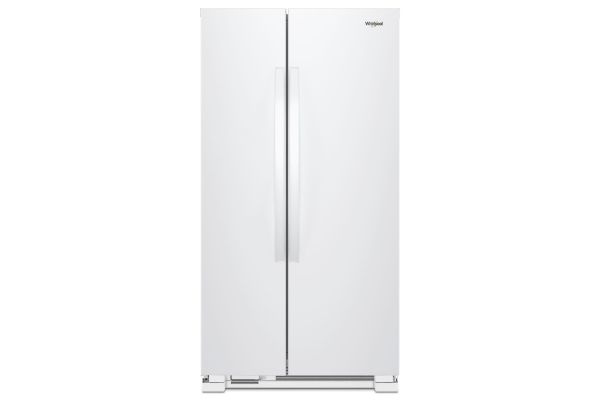 Whirlpool 25 Cu. Ft. White Side-By-Side Refrigerator - WRS315SNHW