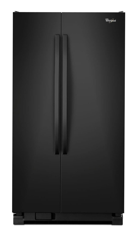 Whirlpool Black Side By Side Refrigerator Wrs322fnab
