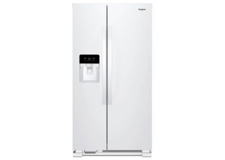 Whirlpool White Side-By-Side Refrigerator - WRS325SDHW