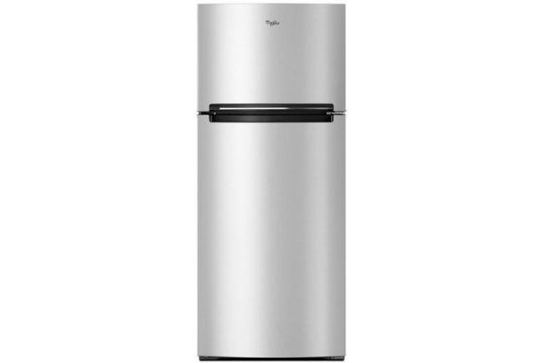 "Large image of Whirlpool 28"" Stainless Steel Top-Freezer Refrigerator - WRT518SZFM"