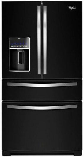 Whirlpool Black Bottom Freezer Refrigerator Wrx735sdbsbk