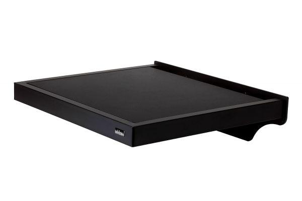 Large image of Solidsteel Black WS Series Turntable Wall-Shelf - WS-5
