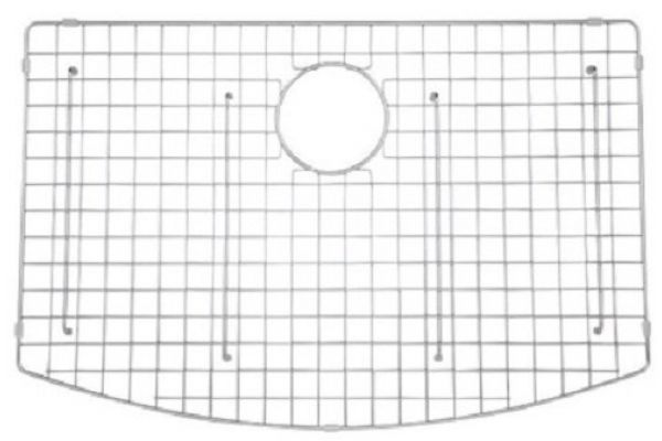 Large image of Rohl RC3021 White Kitchen Sink Grid - WSG3021WH