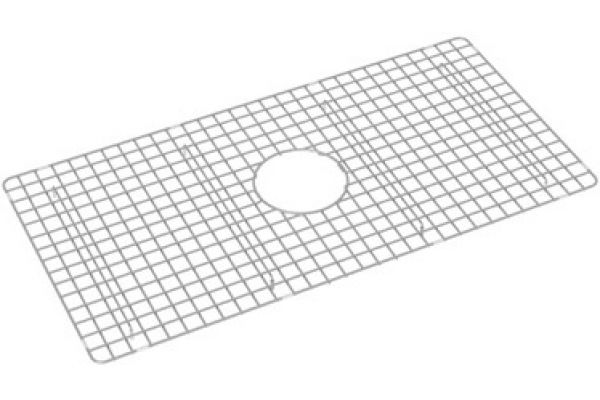 Large image of Rohl RC3318 Stainless Steel Kitchen Sink Grid - WSG3318SS