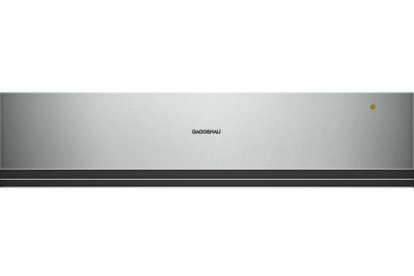 "Gaggenau 24"" Dark Grey Metallic Convection Warming Drawer - WSP221710"