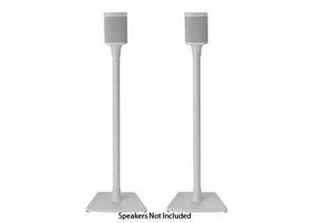 Sanus White Wireless Speaker Stands - WSS22-W1