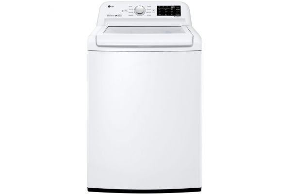 LG White Top Load Washer - WT7100CW