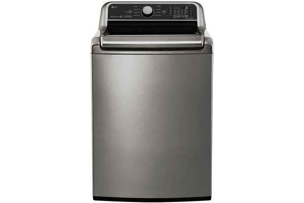 Large image of LG Graphite Steel Smart Top Load Washer - WT7300CV