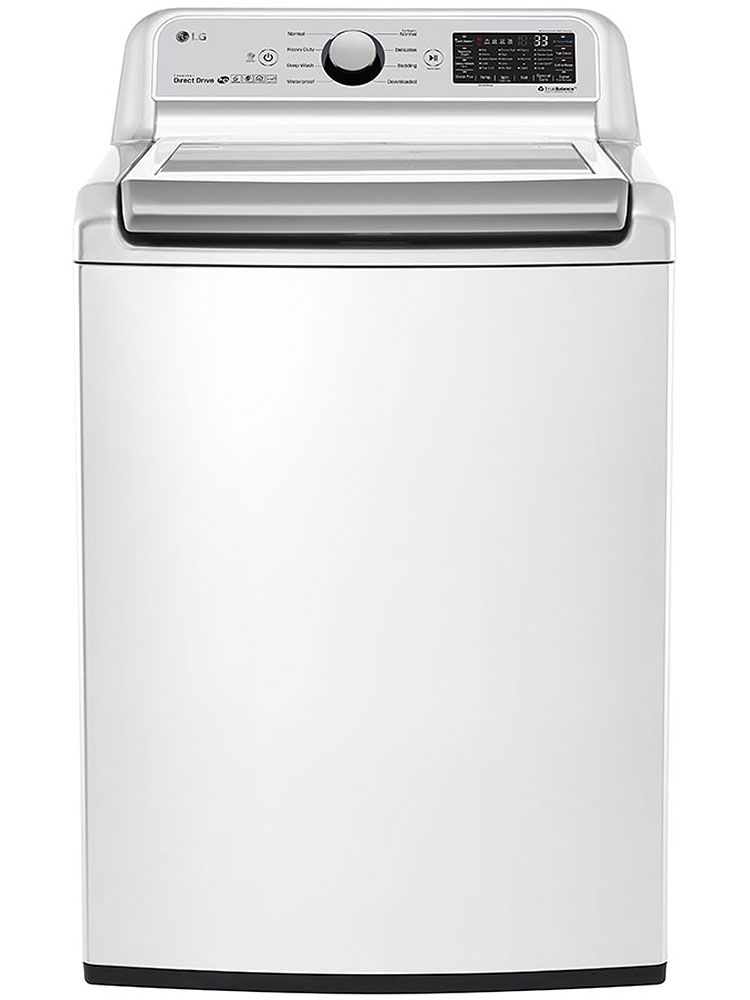 LG WT7300CW Top Loading Washer w/ 5.0 Cu Ft Capacity   Abt