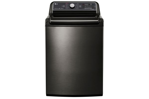 LG 5.2 Cu. Ft. Black Stainless Steel Top Loading Washer  - WT7600HKA