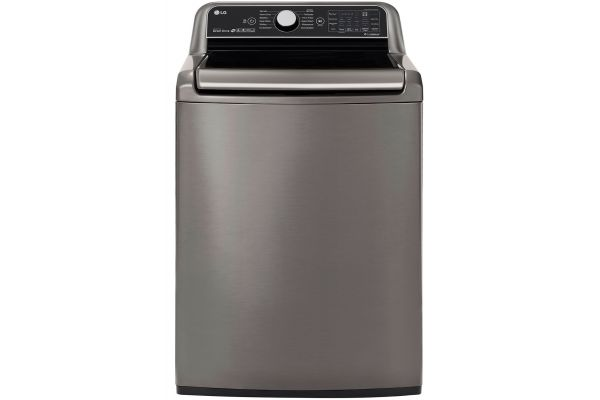 LG Graphite Steel Top Load Washer - WT7800CV