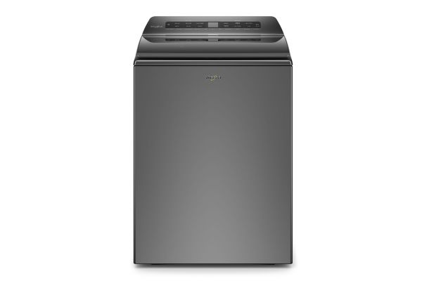 Large image of Whirlpool 4.7 Cu. Ft. Chrome Shadow Top Load Washer With Pretreat Station - WTW5105HC