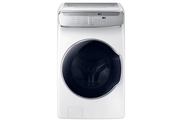 Samsung 6.0 Total Cu. Ft. White FlexWash Washer - WV60M9900AW
