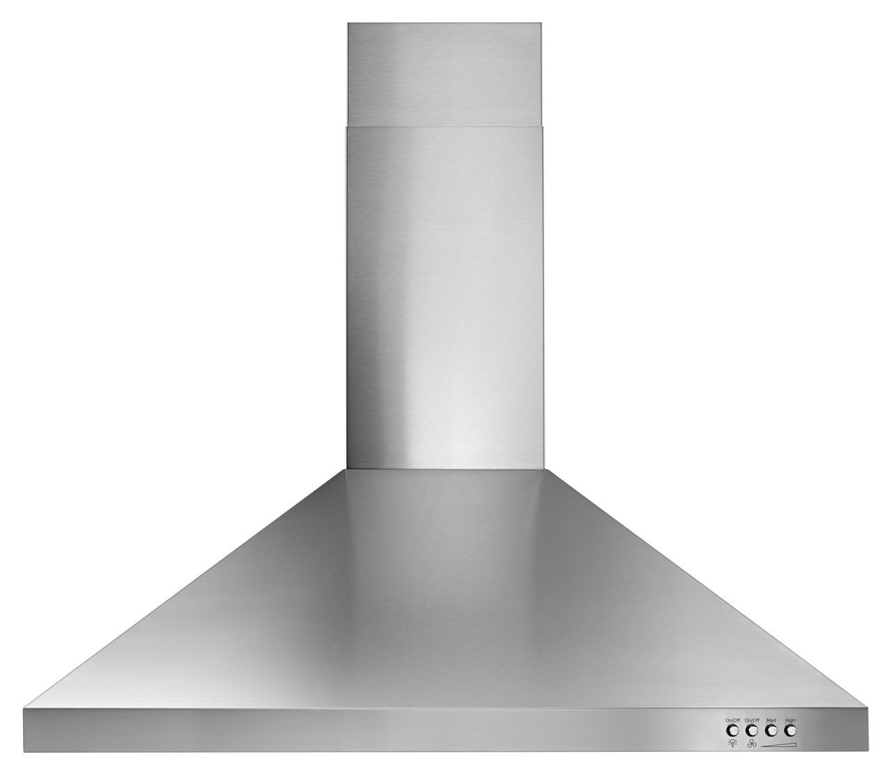 Whirlpool 30 Quot Stainless Contemporary Wall Hood Wvw53uc0fs