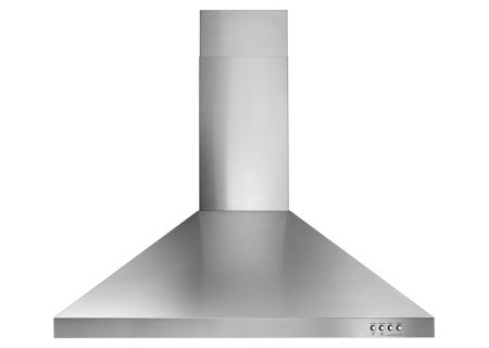 "Whirlpool 30"" Stainless Steel Contemporary Wall Hood  - WVW53UC0FS"