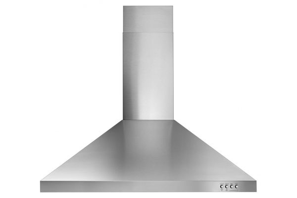 """Whirlpool 30"""" Stainless Steel Contemporary Wall Hood - WVW53UC0FS"""