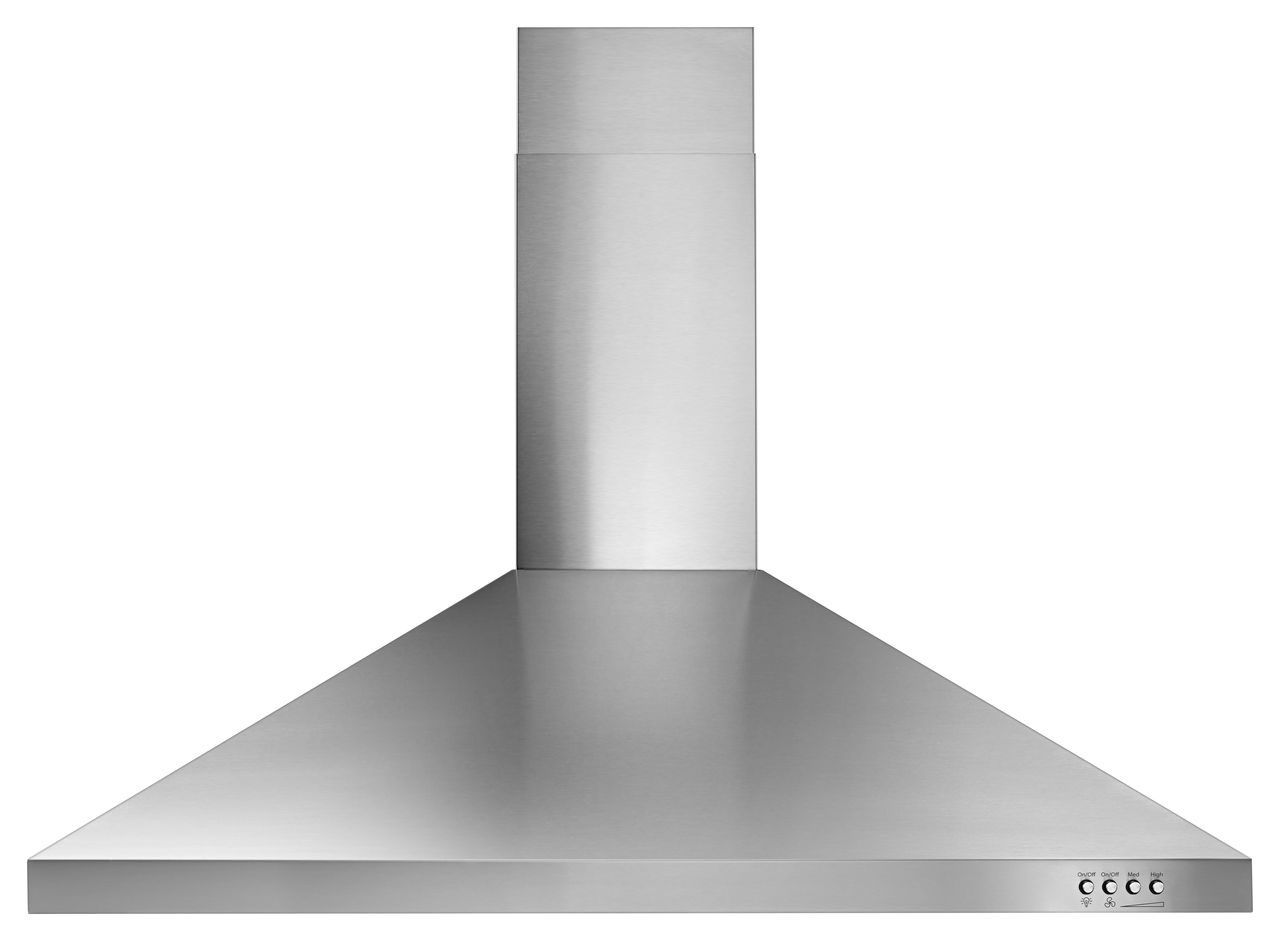 Whirlpool 36 Quot Stainless Contemporary Wall Hood Wvw53uc6fs