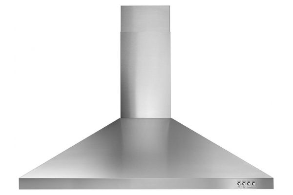 """Large image of Whirlpool 36"""" Stainless Steel Contemporary Wall Hood - WVW53UC6FS"""