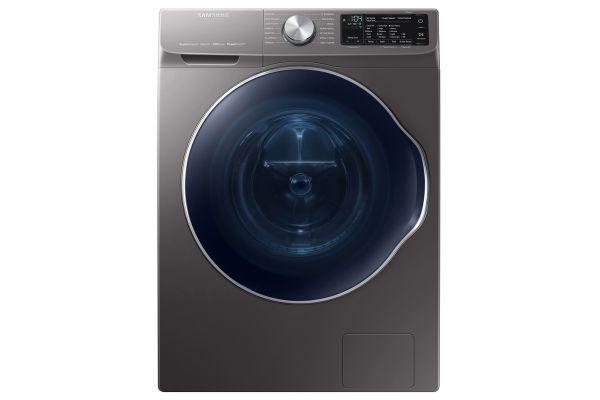 Samsung 2.2 Cu. Ft. Inox Grey Front Load Washer - WW22N6850QX
