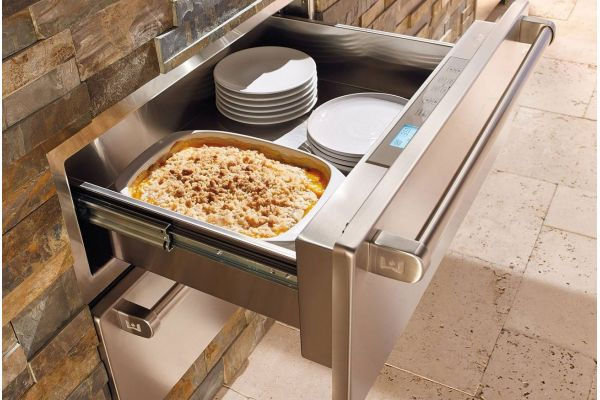 """Large image of Wolf 30"""" Built-In Outdoor Warming Drawer - WWD30O"""