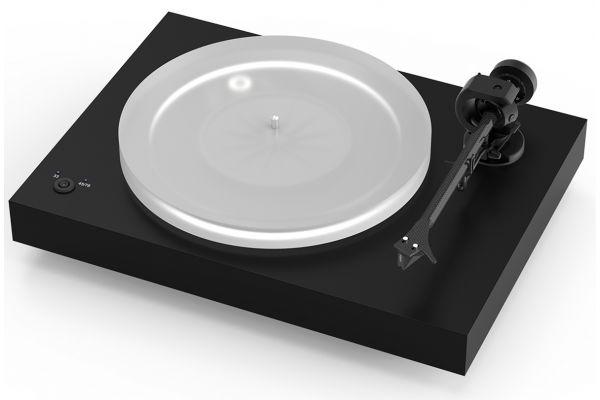 Large image of Pro-Ject X2 Satin Black Turntable - X2SB
