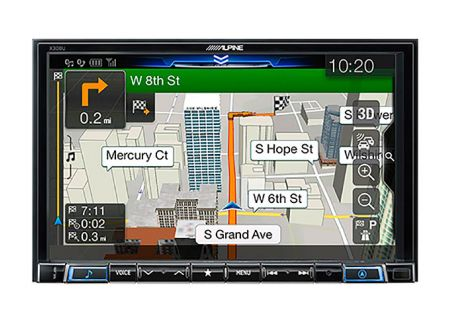 "Alpine 8"" Mech-Less Navigation Receiver - X308U"