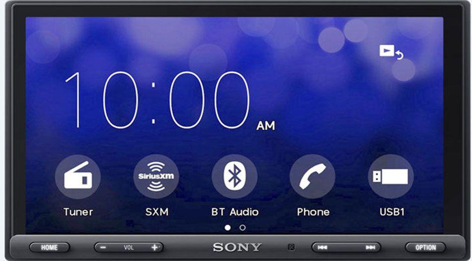 Sony Double DIN Car Receiver With Bluetooth XAV AX5000