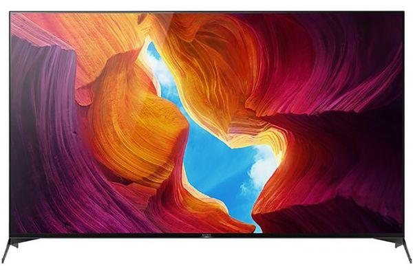 "Large image of Sony 85"" X950H Black LED 4K UHD HDR Smart HDTV - XBR85X950H"