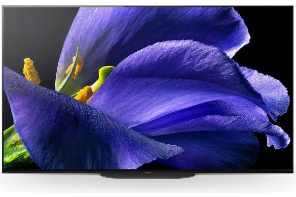 "Large image of Sony 55"" OLED 4K HDR Ultra Smart HDTV - XBR55A9G"