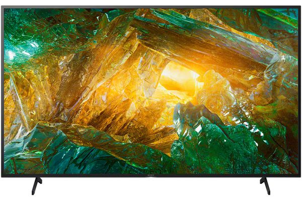 "Large image of Sony 85"" X800H Black LED 4K Ultra HD HDR Smart HDTV - XBR85X800H"