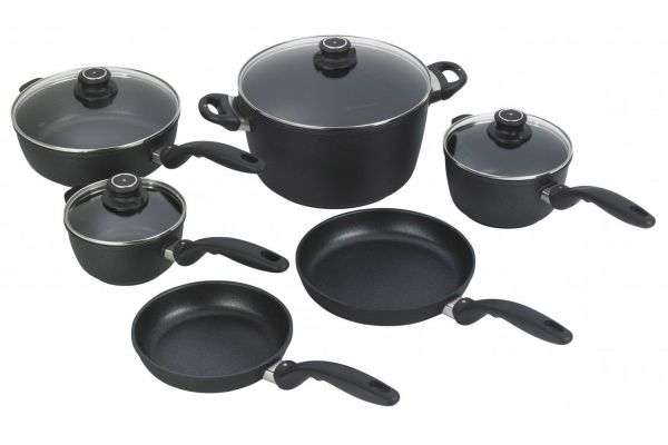 Large image of Swiss Diamond XD Kitchen Kit 10-Piece Cookware Set - XDSET6010