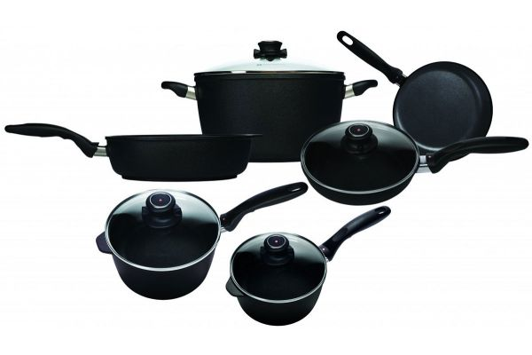 Large image of Swiss Diamond XD Gourmet Induction 10 Piece Cookware Set - XDSET6099I