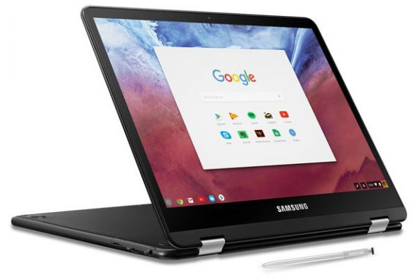 Large image of Samsung Chromebook Pro Laptop Computer - XE510C24-K01US