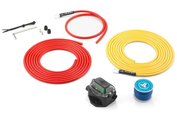 Large image of JL Audio Premium 9 AWG 12V Power Marine Connection Kit - 90400