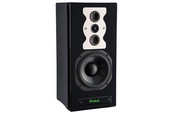 Large image of McIntosh XR50 Black Bookshelf Loudspeaker (Each) - XR50-B