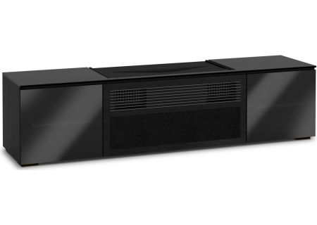 Salamander Credenza Collection Oslo Black Sony 4K Projector Cabinet - X/SNY245OS/BG