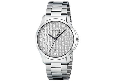 Gucci G-Timeless Collection Diamante Stainless Steel Womens Watch - YA1264024