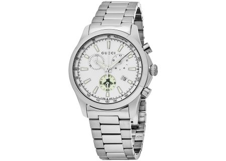 Gucci G-Timeless Quartz Chronograph Unisex Watch - YA126472