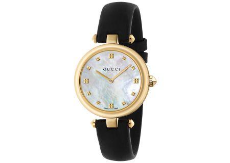 Gucci Diamantissima Yellow Gold PVD Ladies Watch - YA141404