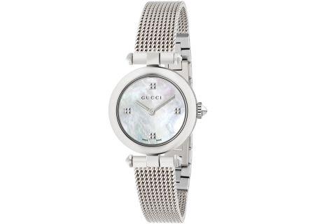 Gucci Diamantissima Stainless Steel Ladies Watch - YA141504