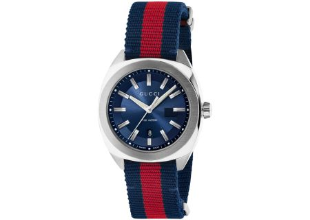 Gucci GG2570 Blue Mens Watch - YA142304