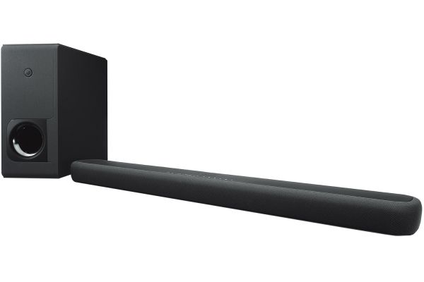 Large image of Yamaha Sound Bar With Wireless Subwoofer And Alexa Built-In - YAS-209BL